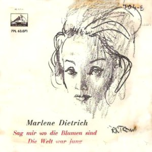 Dietrich, Marlene - La Voz De Su Amo (EMI)7PL 63.071