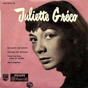 Gréco, Juliette - Philips432 006 PE