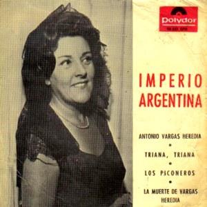 Argentina, Imperio - Polydor20 531 EPH