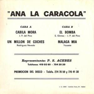 Ana La Caracola - AcebesS/R