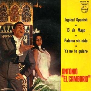 El Camborio, Antonio - Philips436 346 PE