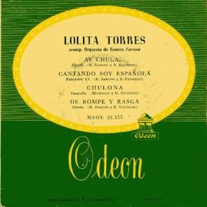 Torres, Lolita - Odeon (EMI)MSOE 31.155