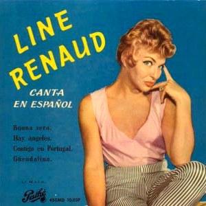 Renaud, Line - Pathé (EMI)45EMD 10.037