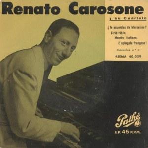 Carosone, Renato - Pathé (EMI)45EMA 40.029