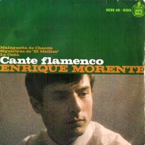 Morente, Enrique - HispavoxHH 16-630