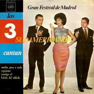 Tres Sudamericanos, Los - CBSAGS 20.111