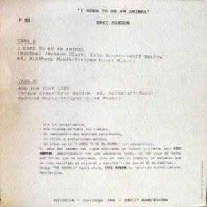 Eric Burdon - Perfil (Divucsa)P-150