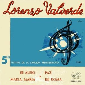 Valverde, Lorenzo - La Voz De Su Amo (EMI)7EPL 13.986