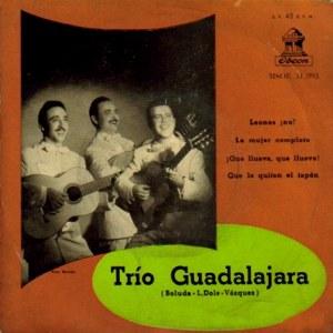 Trío Guadalajara - Odeon (EMI)MSOE 31.093