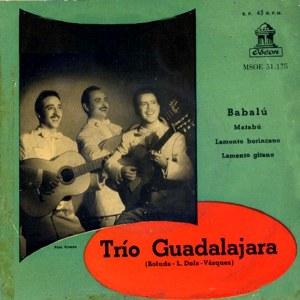 Trío Guadalajara - Odeon (EMI)MSOE 31.175