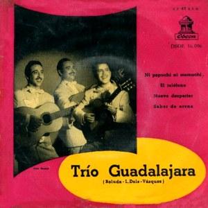 Trío Guadalajara - Odeon (EMI)DSOE 16.096