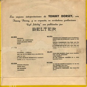 Tommy Dorsey - Belter45.046