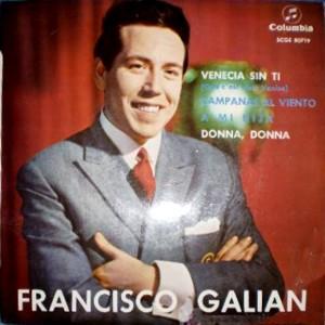 Galián, Francisco - ColumbiaSCGE 80719