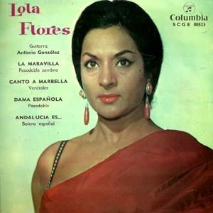 Flores, Lola - ColumbiaSCGE 80523