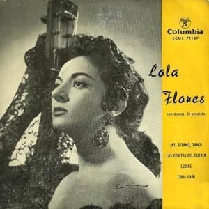 Flores, Lola - ColumbiaECGE 71187