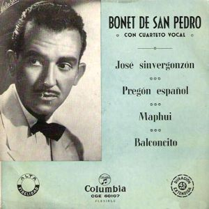 San Pedro, Bonet De - ColumbiaCGE 60107