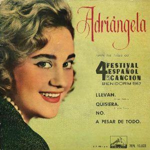 Adriángela - La Voz De Su Amo (EMI)7EPL 13.822