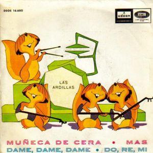 Ardillas, Las - Odeon (EMI)DSOE 16.680
