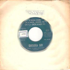 Dúo Dinámico - La Voz De Su Amo (EMI)7PL 63.050