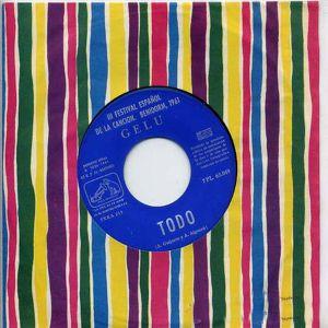 Gelu - La Voz De Su Amo (EMI)7PL 63.049