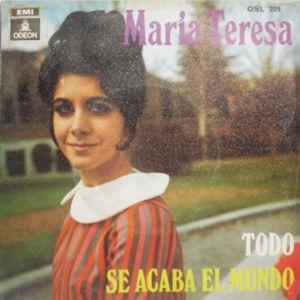 María Teresa - Odeon (EMI)OSL 209