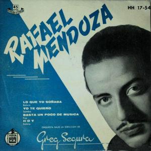 Mendoza, Rafael - HispavoxHH 17- 54