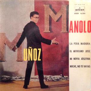 Muñoz, Manolo - Odeon (EMI)DSOE 16.553