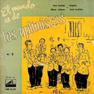 Optimistas, Los - La Voz De Su Amo (EMI)7EPL 13.257