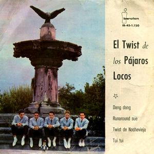 Pájaros Locos, Los - IberofónIB-45-1.120