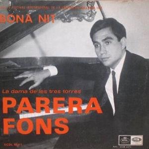 Parera Fons, Antoni - Regal (EMI)SCDL 69.017