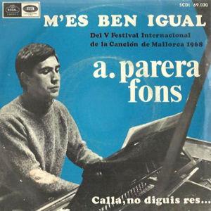 Parera Fons, Antoni - Regal (EMI)SCDL 69.030