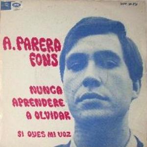 Parera Fons, Antoni - Regal (EMI)SCDL 69.031