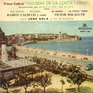 Varios - Pop Español 60' - Alhambra (Columbia)EMGE 71361