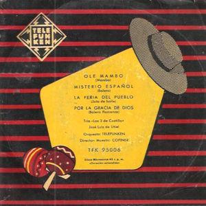 Tres De Castilla, Los - TelefunkenTFK-95006