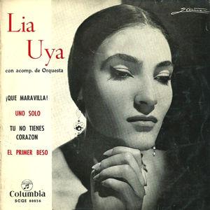 Uya, Lia - ColumbiaSCGE 80856