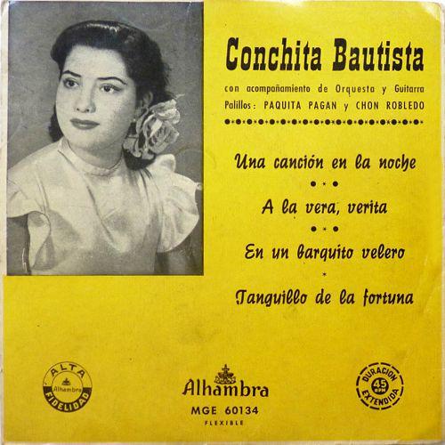 Bautista, Conchita - Alhambra (Columbia)MGE-60134