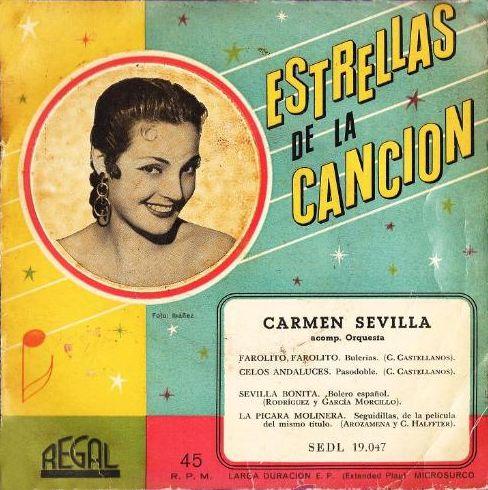 Sevilla, Carmen - Regal (EMI)SEDL 19.047