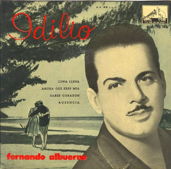 Albuerne, Fernando - La Voz De Su Amo (EMI)7EPL 13.148
