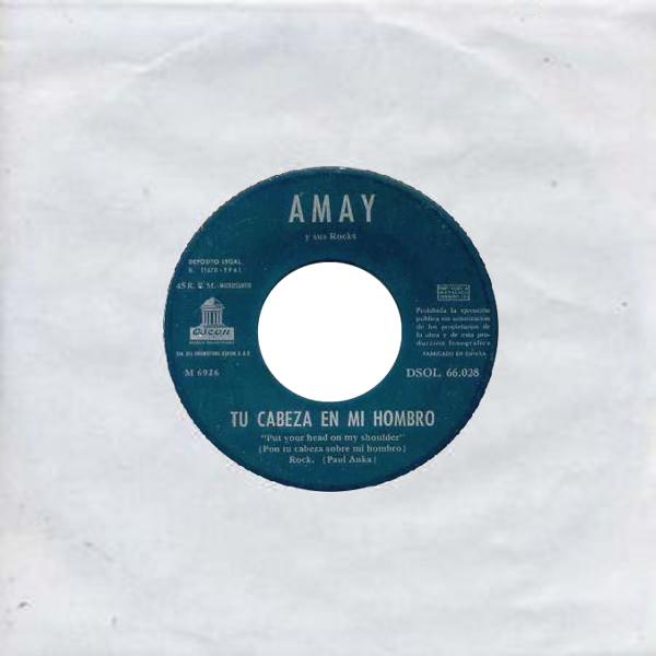 Amay Y Sus Rocks - Odeon (EMI)DSOL 66.028