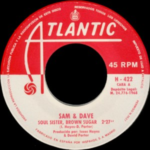 Sam And Dave - Hispavox H 422