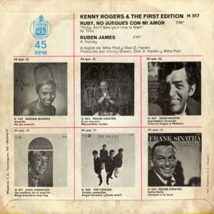 Kenny Rogers - HispavoxH 517