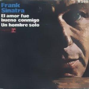 Sinatra, Frank - HispavoxH 540