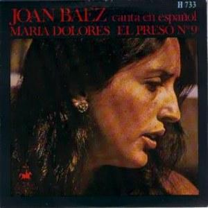 Baez, Joan - HispavoxH 733