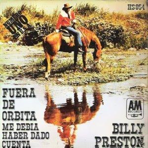 Preston, Billy - HispavoxHS 854