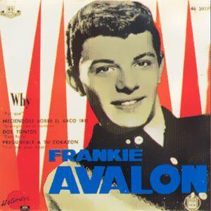 Avalon, Frankie - Hispavox46 3917