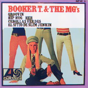 Booker T. And The M. G.´s - HispavoxHAT 427-11