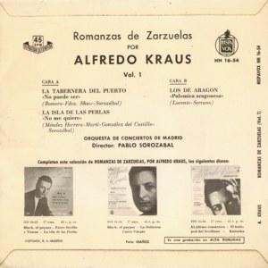 Alfredo Kraus - HispavoxHH 16- 54