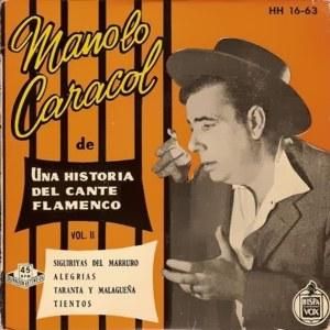 Caracol, Manolo - HispavoxHH 16- 63