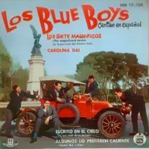 Blue Boys, Los - Hispavox HH 17-158