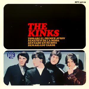 Kinks, The - HispavoxHPY 337-24